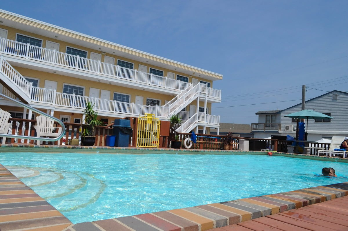 Sea Horse Motel LBI Photos Of Rooms, Pool And 3rd Floor