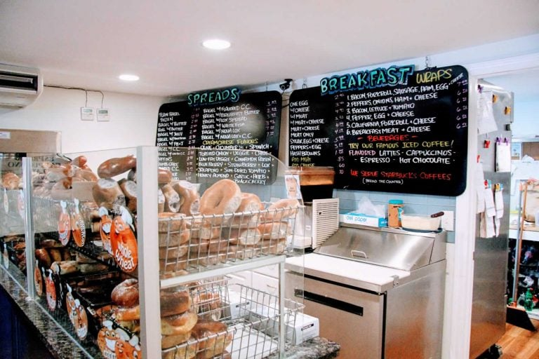 Get Breakfast and Lunch at Bagels and Beyond in Brant Beach